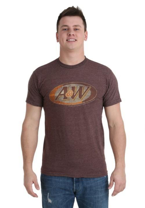 A&W Logo Men's T-Shirt