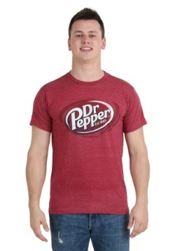 Dr Pepper Logo Men's T-Shirt