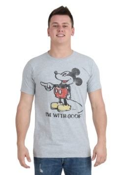 Men's Mickey Mouse I'm With Goofy T-Shirt