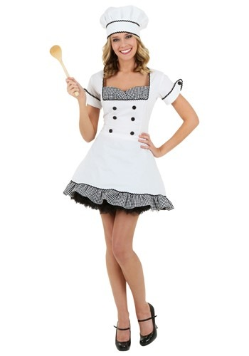 Sexy Chef Womens Costume