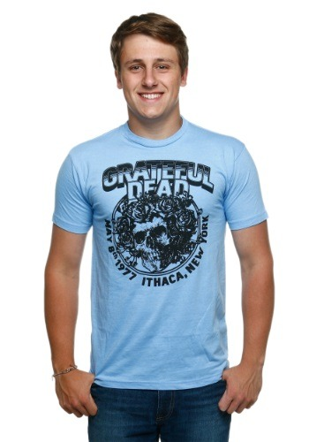 Grateful Dead Bertha LT Blue Men's T-Shirt