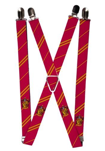 Harry Potter Gryffindor Suspenders