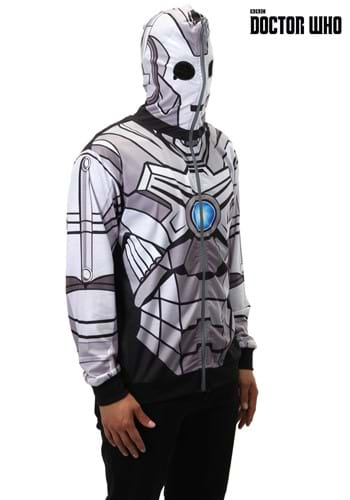 Cyberman Full Zip Up Hoodie
