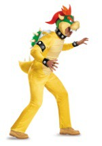 Deluxe Bowser Plus Size Costume