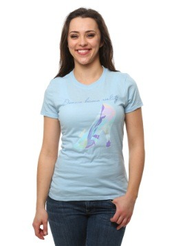 Cinderella Glass Slipper Juniors T-Shirt