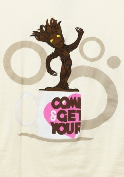Guardians of the Galaxy Cup of Groot Juniors T-Shirt1
