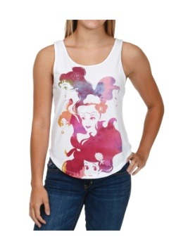 Disney Ink Princesses Juniors Tank