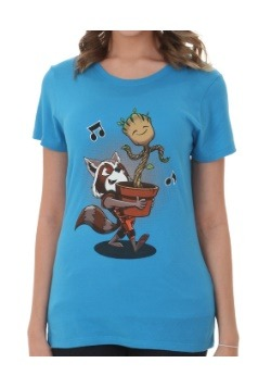 Guardians Of The Galaxy Groot & Rocket Best Of Friends Shirt