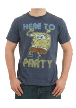 Spongebob Here to Party T-Shirt