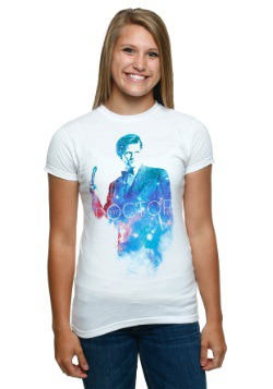 Womens Doctor Who My Doctor 11 Galaxy T-Shirt