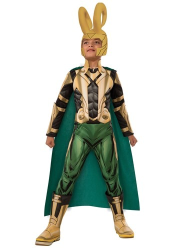 Child Deluxe Loki Costume
