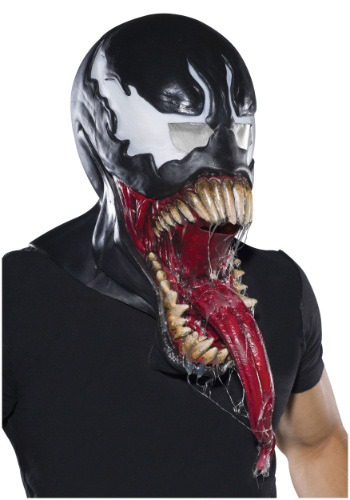 Deluxe Adult Venom Latex Mask
