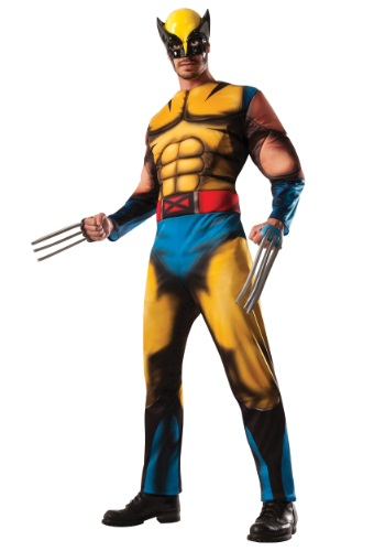 Adult Deluxe Wolverine Costume