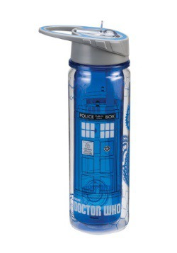 Dr. Who Tardis 18oz Tritan Water Bottle