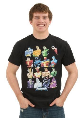 Justice League Cast Men's T-Shirt