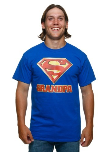 Superman Super Grandpa T-Shirt