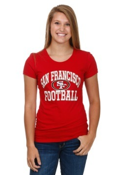 San Francisco 49ers Franchise Fit Womens T-Shirt