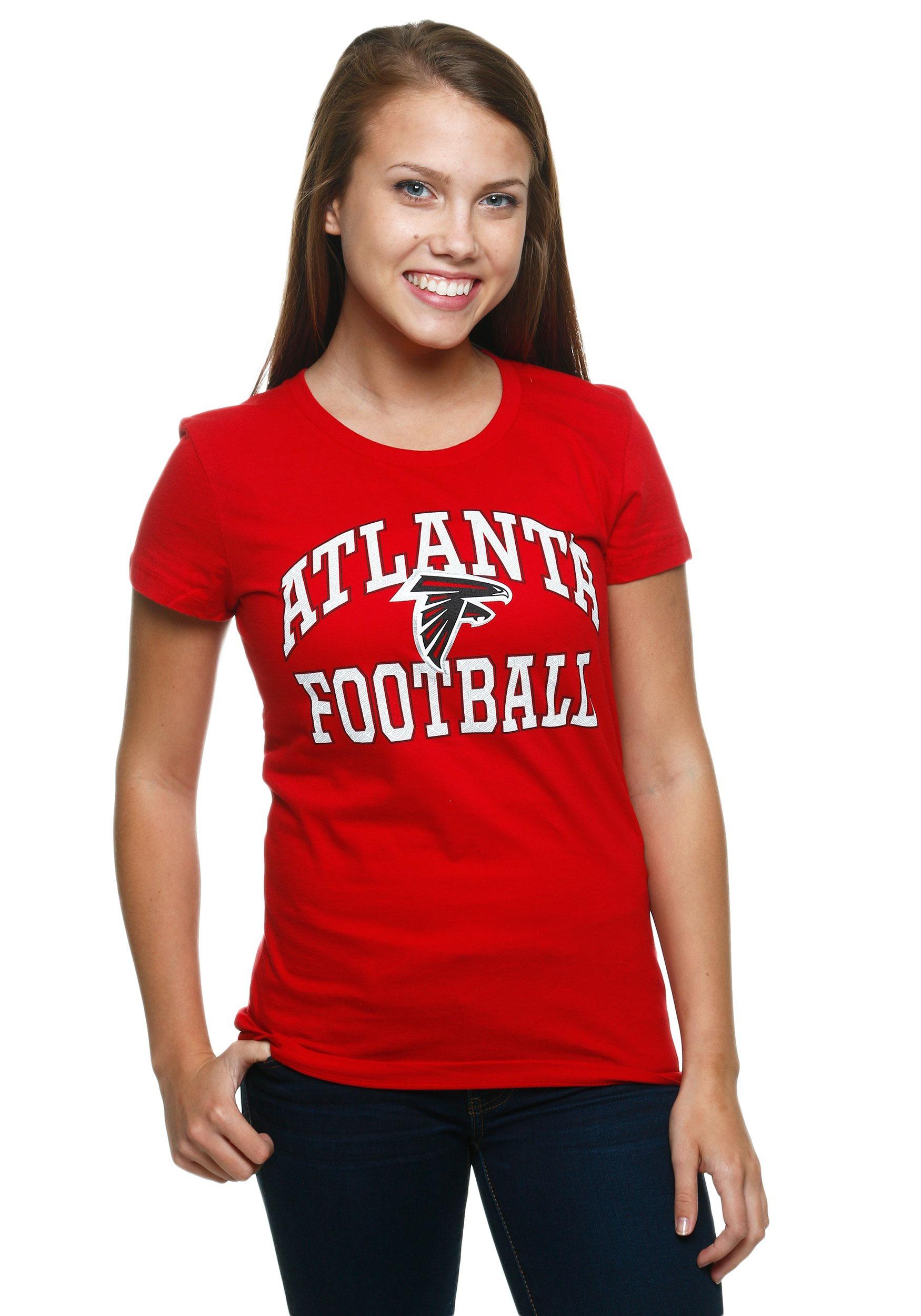 Atlanta Falcons Franchise Fit Women s T-Shirt b163266b32