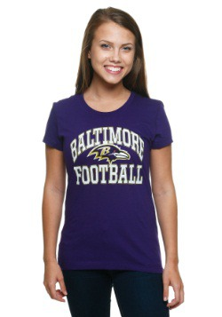 Baltimore Ravens Franchise Fit Women's T-Shirt