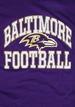 Baltimore Ravens Franchise Fit Women's T-Shirt2