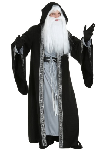 Deluxe Wizard Costume For Adults