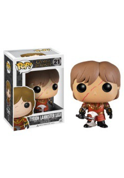 POP Tyrion Lannister Scar & Battle Armour Vinyl Figure