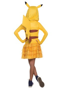 Pikachu Girls Hoodie Dress 1