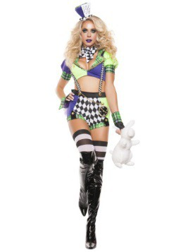 Tipsy Mad Hatter Costume For Women
