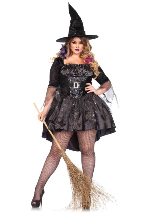 Black Magic Mistress Womens Costume