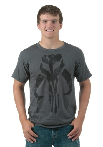 Men's Veste E Boba Fett Charcoal T-Shirt