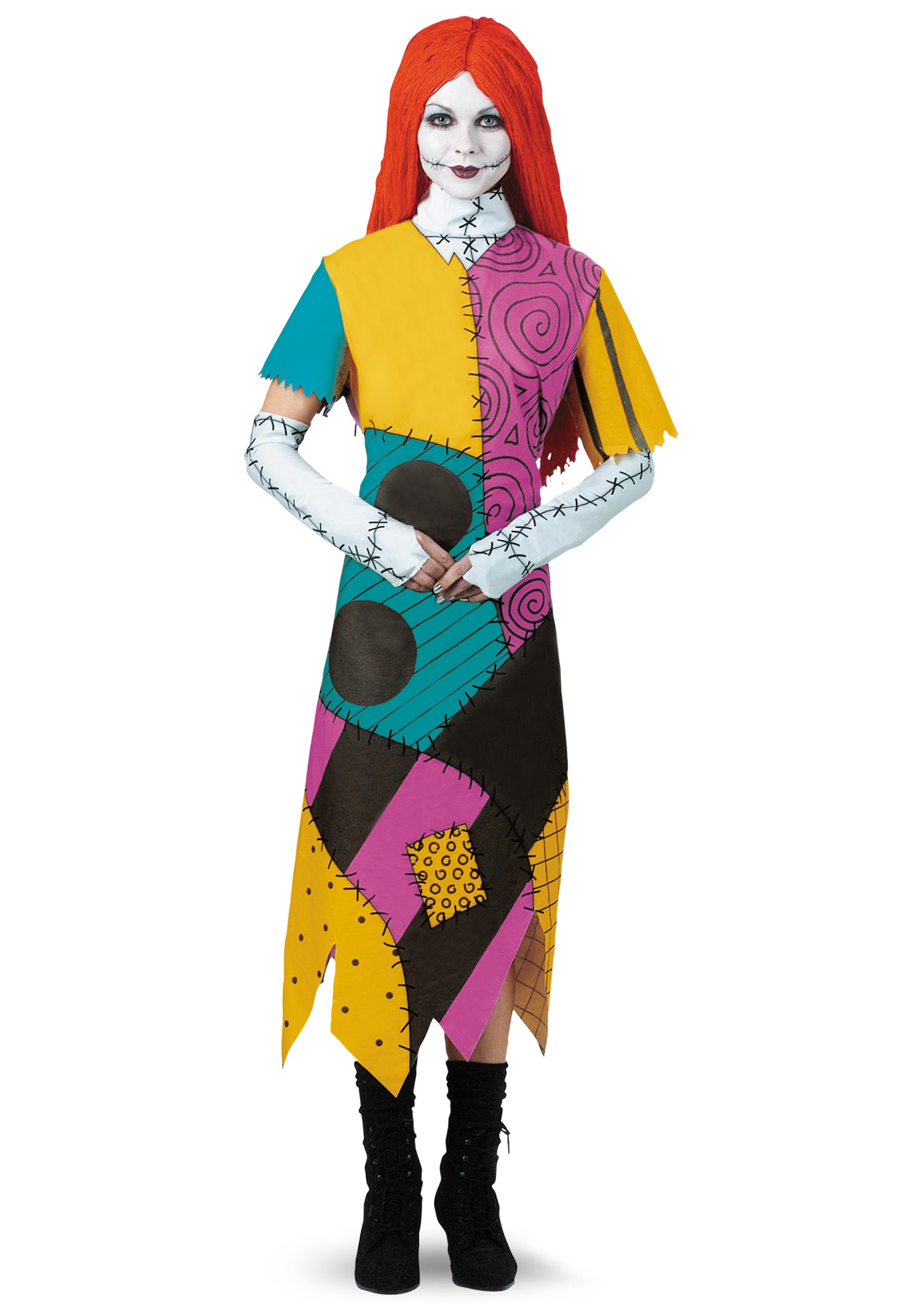 Nightmare Before Christmas Sally Plus Size Costume for Women f58221657