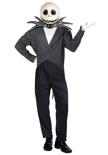 Nightmare Before Christmas Skellington Costume
