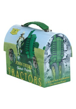 John Deere Replace Animal Power Lunch Box