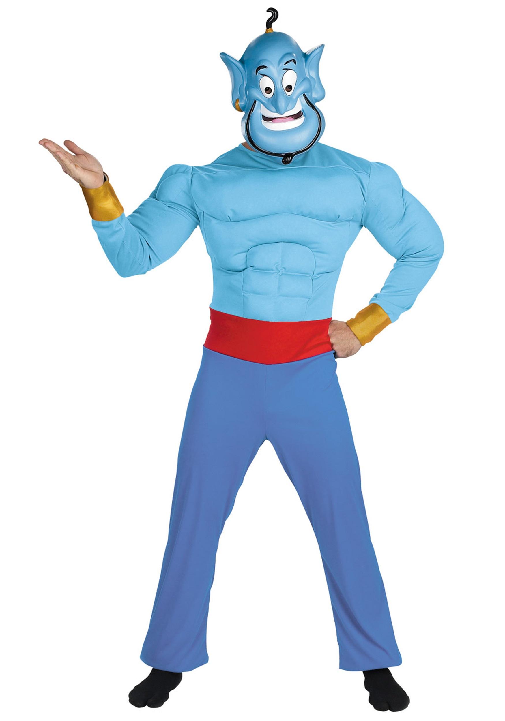 Menu0027s Genie Costume  sc 1 st  Fun UK & Menu0027s Genie Costume from Aladdin