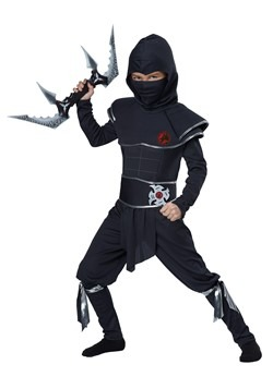 Boys Ninja Warrior Costume