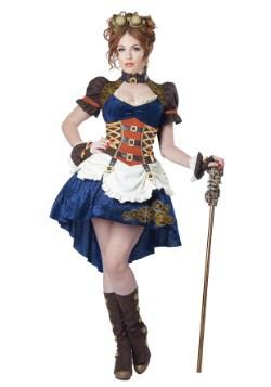 Plus Size Steampunk Fantasy Women's Costume