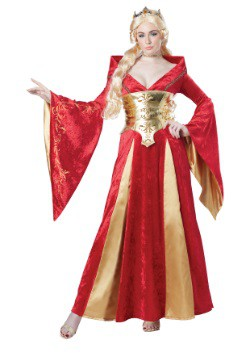 Medieval Queen Women's Costume