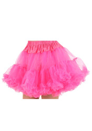 Hot Pink Plus Size Petticoat