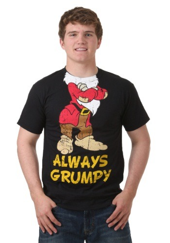 Men's Snow White Always Grumpy Headless T-Shirt