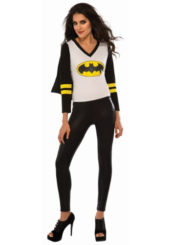 Womens Batgirl Sporty Tee with Cape