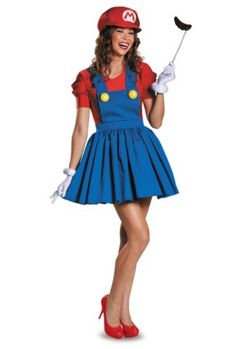Women's Mario Skirt Costume