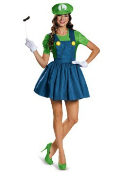 Women's Luigi Skirt Costume