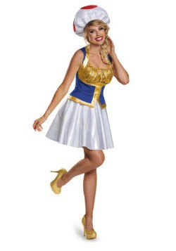 Women's Toad Dress Costume