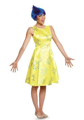 Inside Out Joy Deluxe Adult Costume