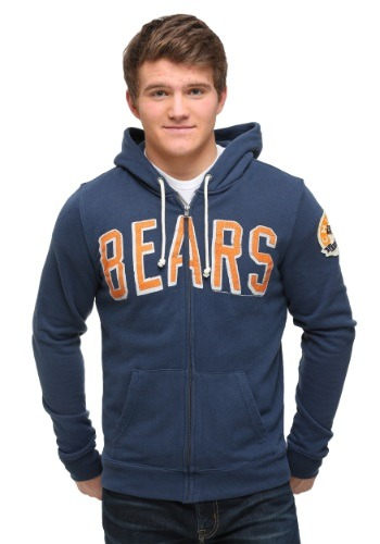 Chicago Bears Sunday Zip Up Hoodie