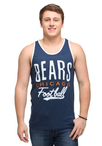Chicago Bears Time Out Mens Tank