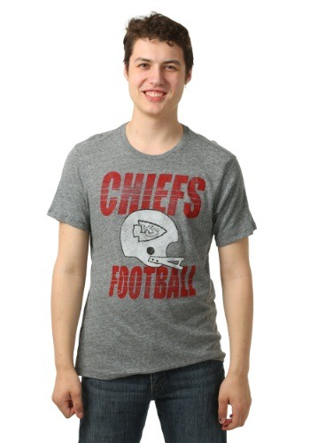 Kansas City Chiefs Touchdown Tri-Blend Men's T-shirt