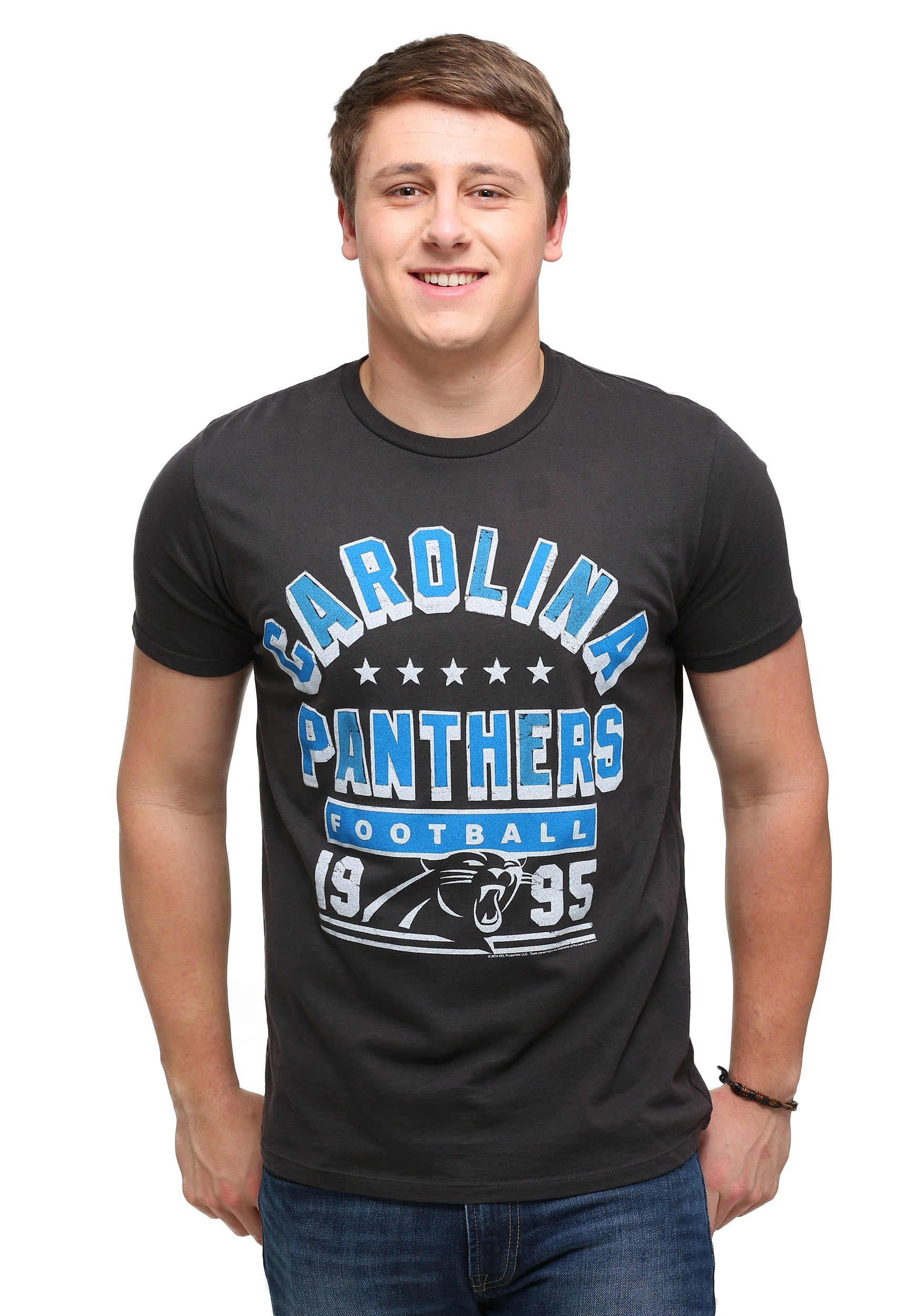 60b42b85f Men s Carolina Panthers Kickoff Crew T-Shirt