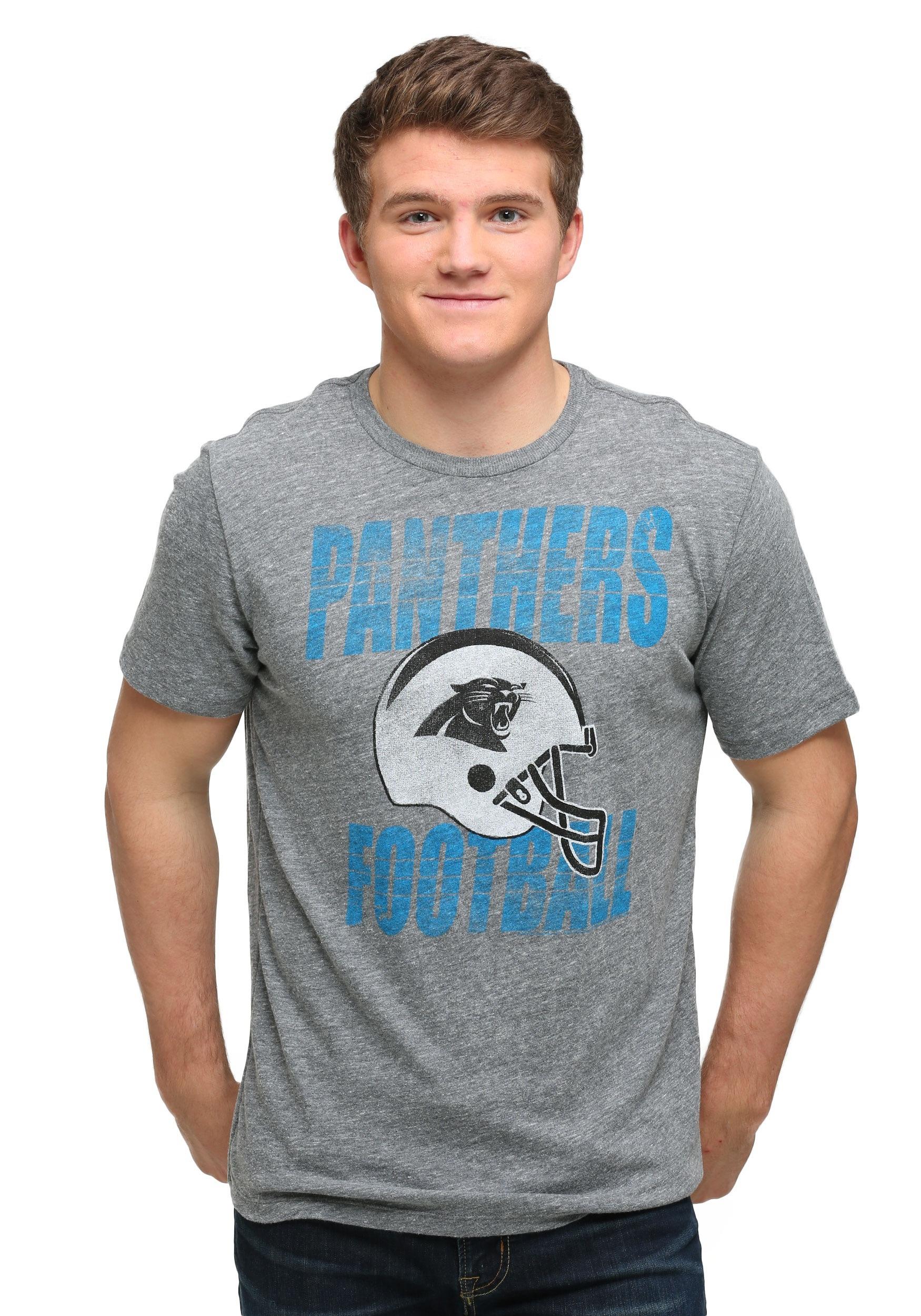 39d3e68e7 Carolina Panthers Touchdown Tri-Blend Men s T-Shirt