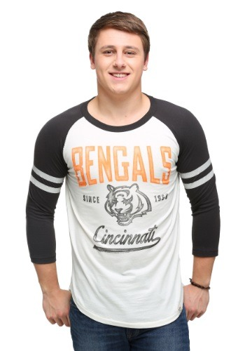 Men's Cincinnati Bengals All American Raglan